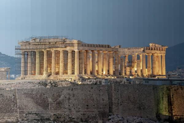 Richard Silver - Time Slice Parthenon II