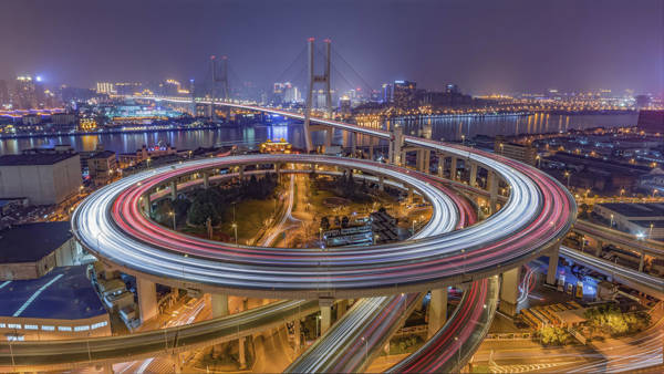 Barry Chen - Bright Nanpu Bridge | blinq.art