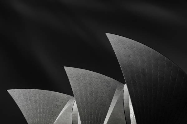 Mathilde Guillemot - Sydney Opera House Side Profile