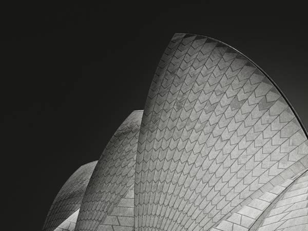 Mathilde Guillemot - Sydney Opera House Back Profile