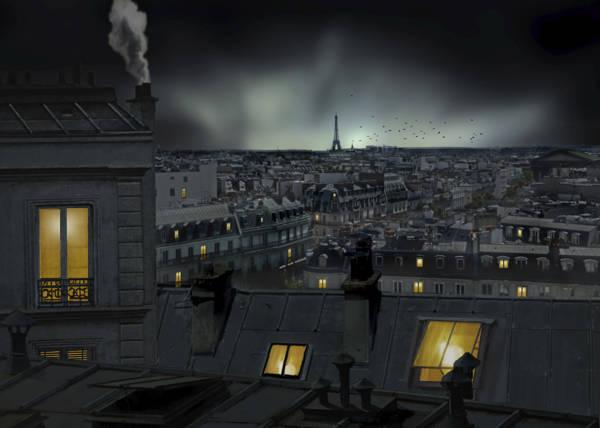 Pierre Bacus - Paris Rooftops