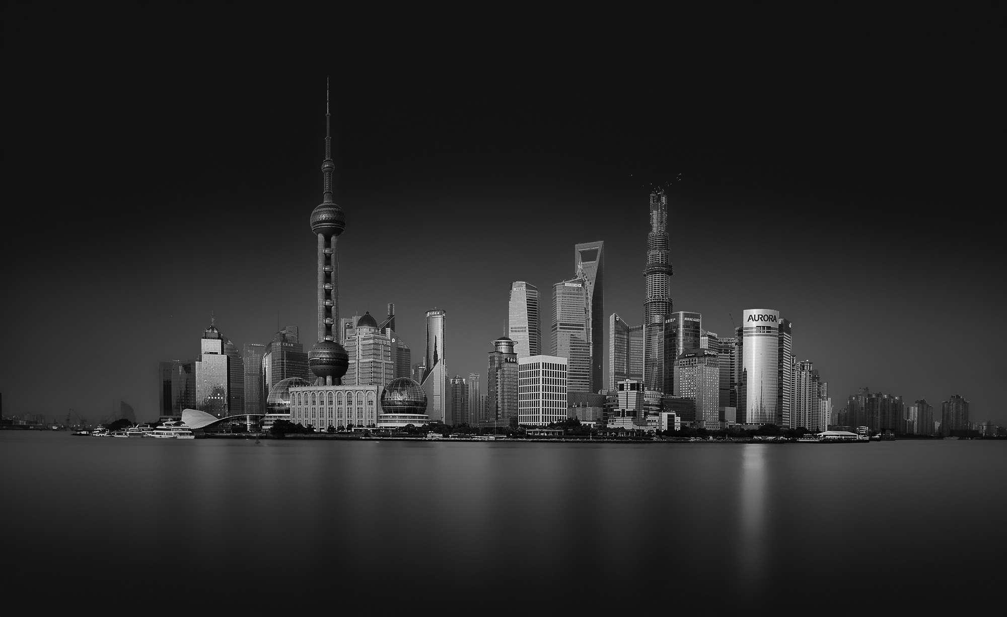 Stefan Schilbe - Shanghai in Black and White